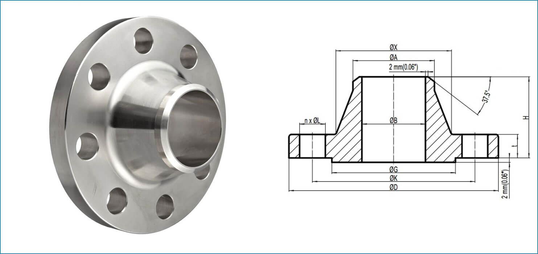 309-weld-neck-flanges-manufacturer